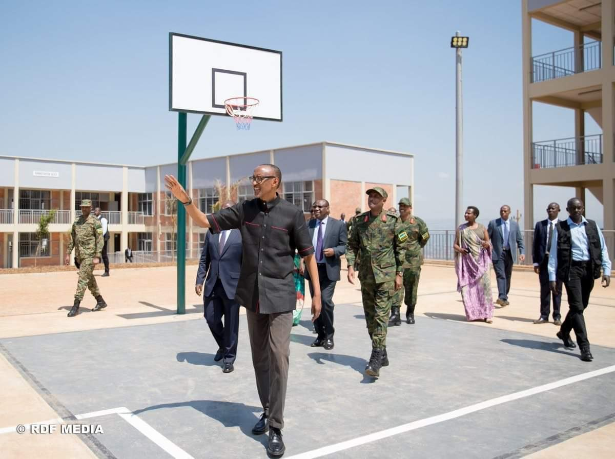 Rwanda's President Paul Kagame inaugurated a new town for poor people, with several decent houses and facilities in July 2019.