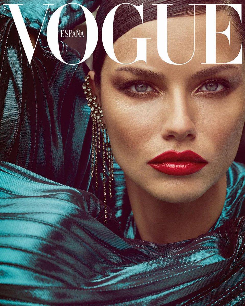 Адриана Лима для испанского Vogue