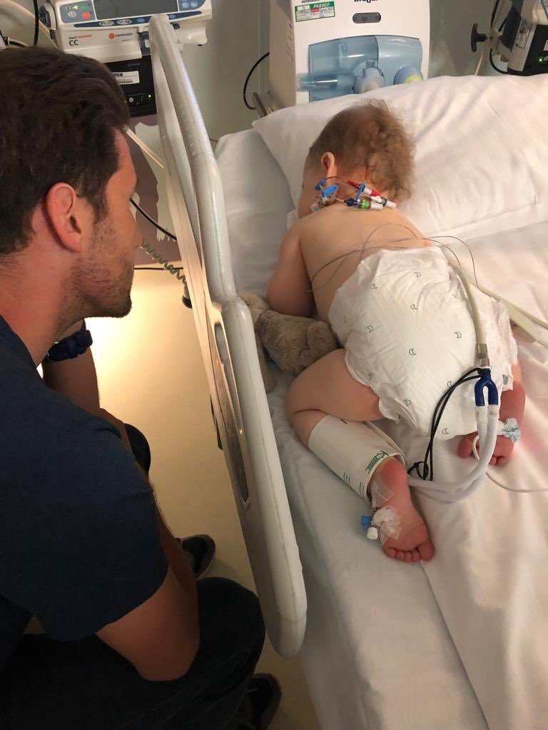 Wanted 2 share how much I love my daughter & how proud I am of her. This wk she underwent open heart surgery to repair a large hole and value problem. She has recovered quicker than the docs imagined. She's incredible. Her mum & dad look way older & greyer, but can breathe again