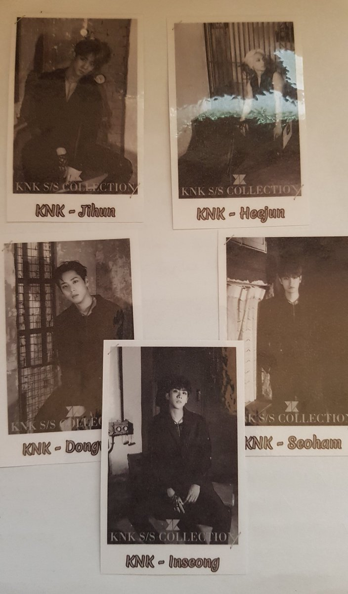 Here are my selfmade photocards. I will give them away the KNK concert in Berlin  #KNK_SUNSET #KNKinBerlin #SunriseTourinBerlin<br>http://pic.twitter.com/pThuxl70Rc