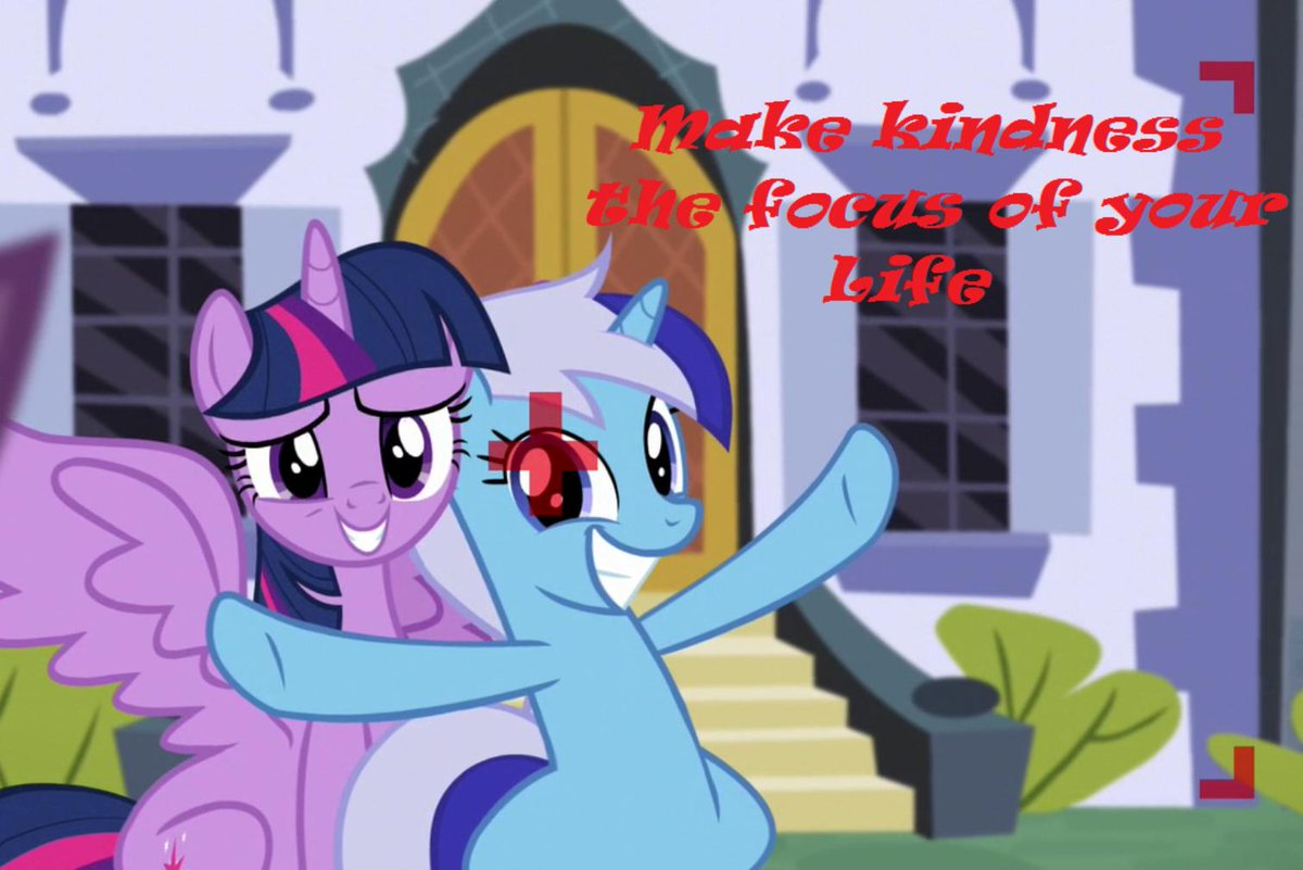 Make kindness the focus of your life - Minuette #MLPFiM #kindness<br>http://pic.twitter.com/0E09YpBKNl