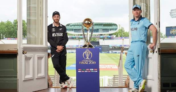 Best of Luck #blackcaps and @englandcricket in final of #CWC19 at #lords