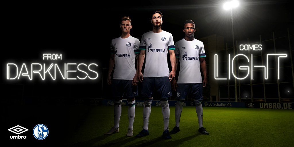 Introducing the new @s04 Away Kit for the 2019/20 season ⚒️ #s04 | #umbro