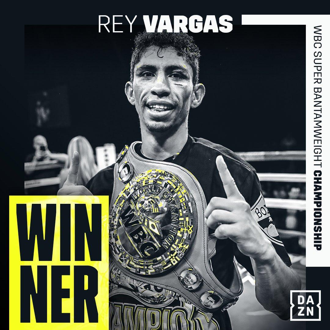 The Champ Stays Perfect 💯   #VargasKameda