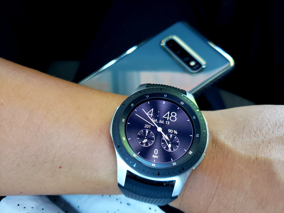 My @SamsungMobileUS #GalaxyS10Plus and my #galaxywatch  made the perfect combo for tonight! Pictures taken on #galaxynote9 #withGalaxy<br>http://pic.twitter.com/lN4pqOpBzN