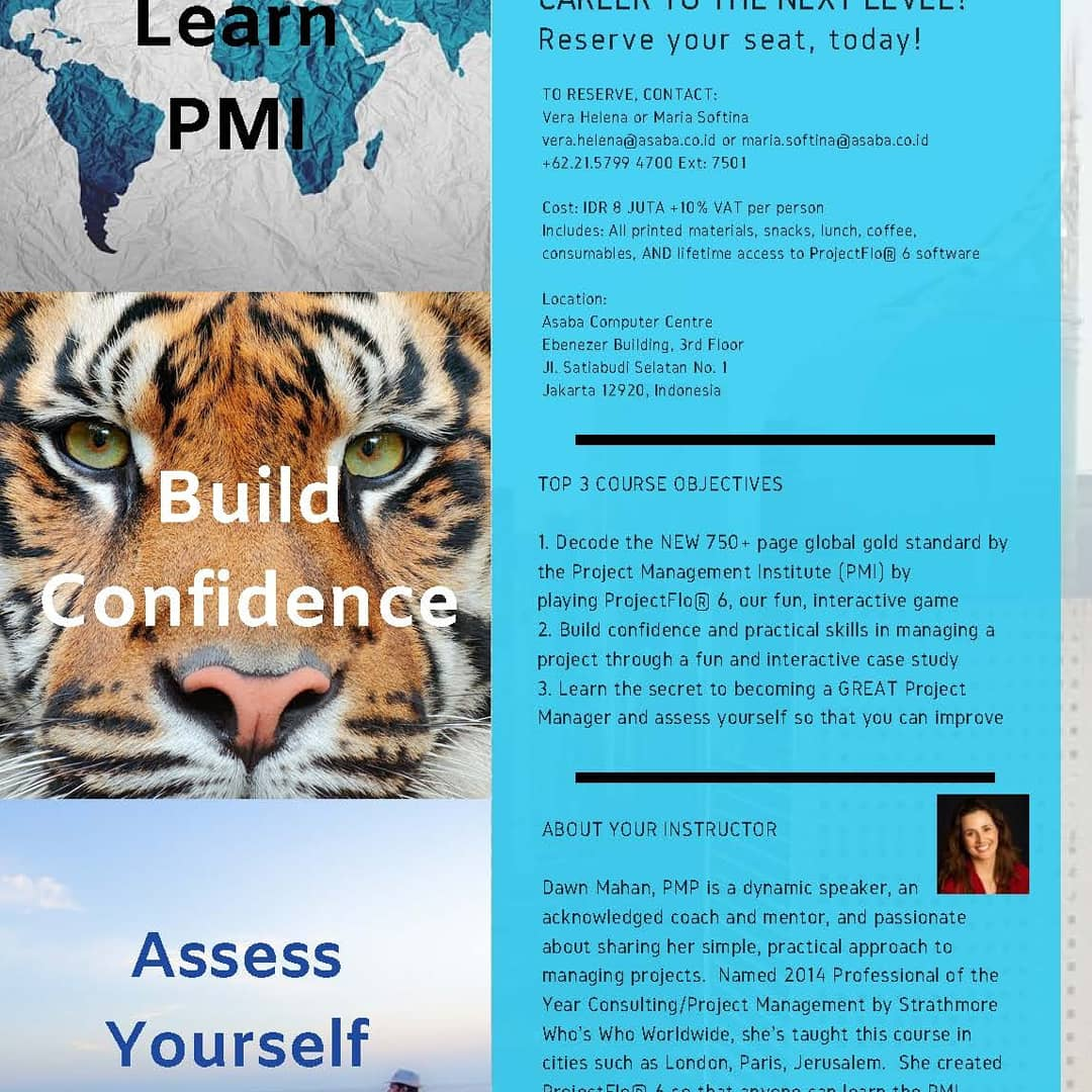 Open Registeration and contact us pmo@project-general.com for special packet deal. - Learn the secret to becoming a GREAT Project Manager and assess yourself so that you can improve -