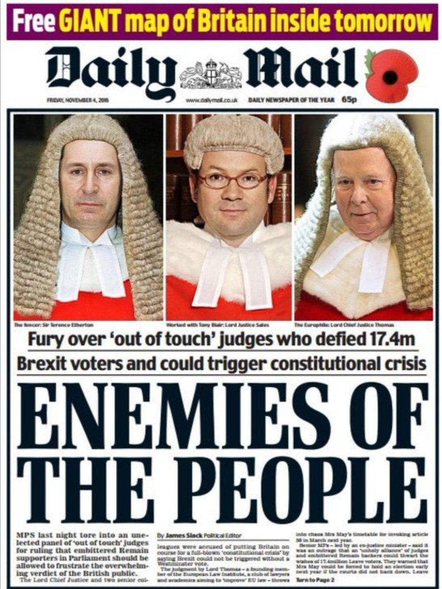 @michaelwhite @asymetricjockey Daily Mail, Mail on Sunday, enemies of the people. https://t.co/UVl31XoYK4