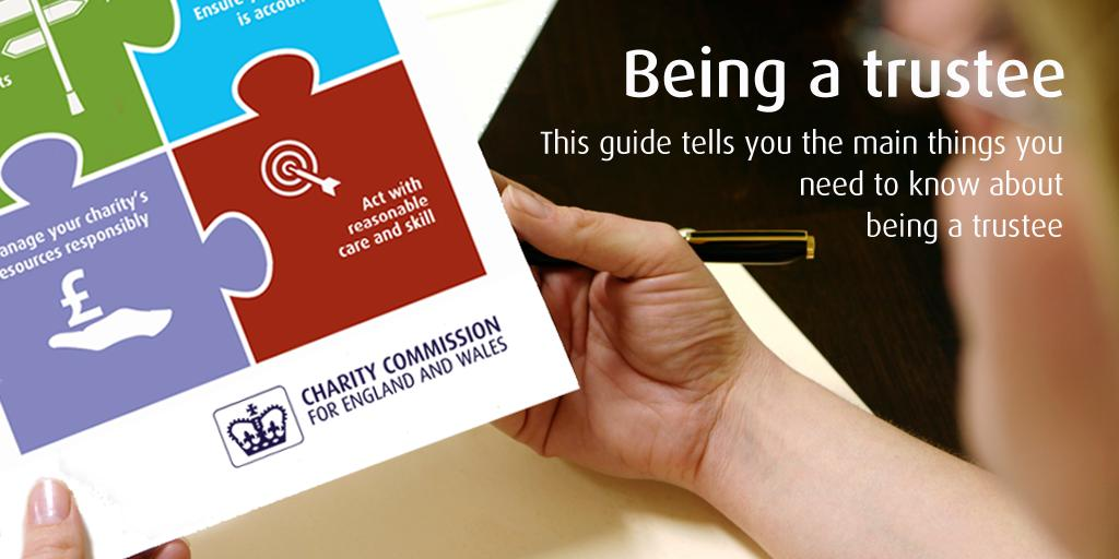 Are you a charity #trustee? Do you know what your 6 main duties are? It's essential that you're aware of your duties as they will guide you towards achieving your charity's goals and objectives.   This useful piece of guidance will help you: https://www.gov.uk/guidance/charity-trustee-whats-involved…