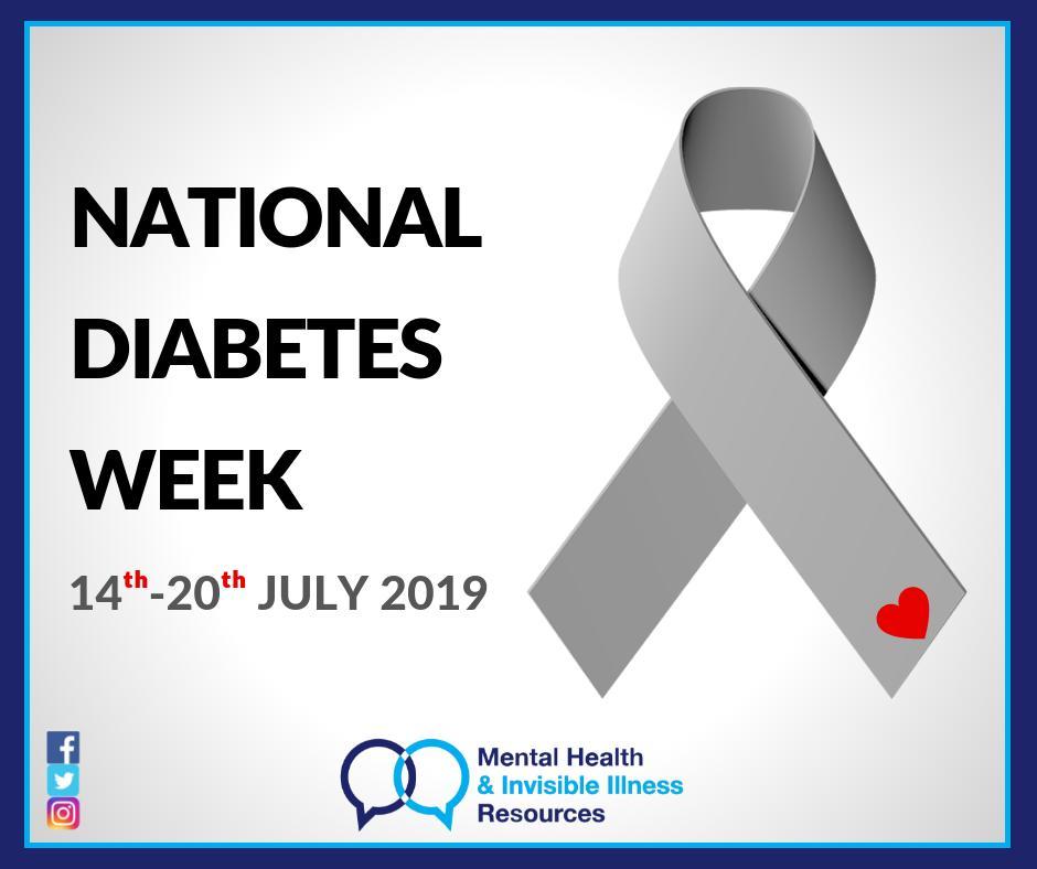 National Diabetes Week Australia 14-20 July 2019 #NationalDiabetesWeek #Australia #DiabetesWeek #DiabetesAwarenessWeek #DiabetesAwareness #diabetes #type1diabetes #Type2Diabetes #GestationalDiabetes #Prediabetes #MetabolicSyndrome #PCOS #chronicillness #invisibleillness @MHIIR_14