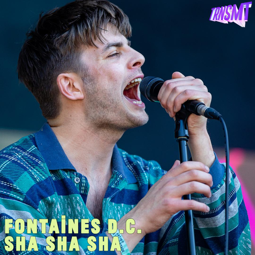 | @fontainesdublin belt it out for the #TRNSMT crowd! #TRNSMTTakeover - streaming now: bbc.in/3iYY2xK