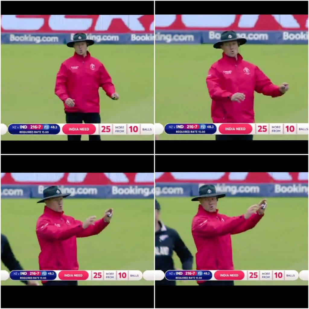 Umpire's face when he realized that MS Dhoni is going to be run out   <br>http://pic.twitter.com/Aa9BgrEmzl