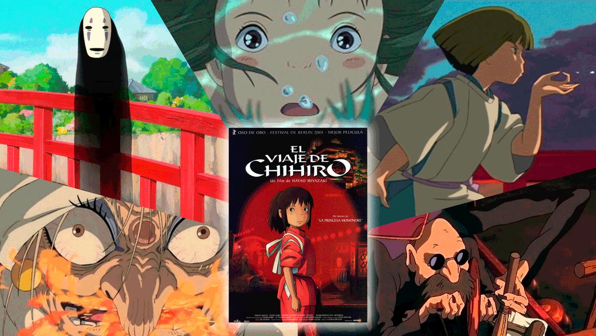 Hoy se cumplen 18 años de una las mejores películas jamás realizadas: El viaje de Chihiro 🎬 Hayao Miyazaki 🎵 Joe Hisaishi 📅 20/7/2001 🏆Ganadora de un premio Oscar y el Oso de Oro de Berlín ex-aequo