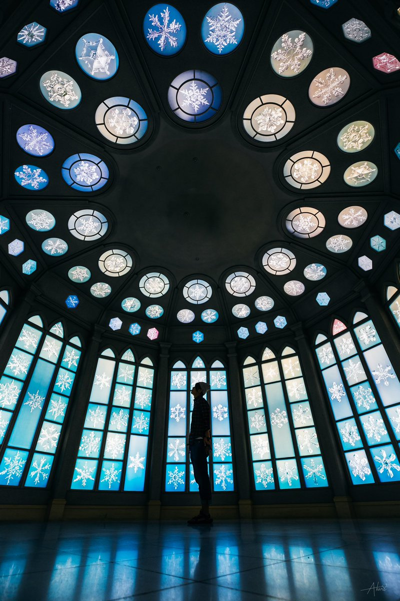 雪の美術館内の結婚式場が素敵すぎるからいつか結婚式をあげたいと思ってる全女子に知ってほしい。
