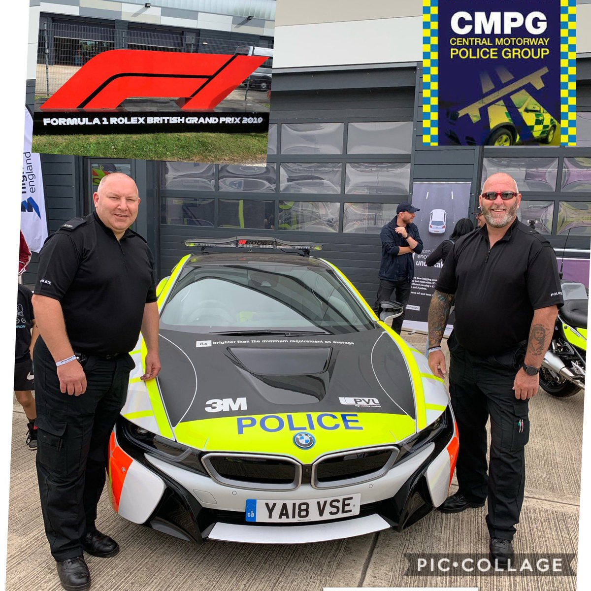 CMPG are @SilverstoneUK today. Talking road safety at the @F1. We are in the family zone, come & say hello. @HighwaysEngland @MarieBiddulph1 @999flymo @MedicAlertUK @BMW