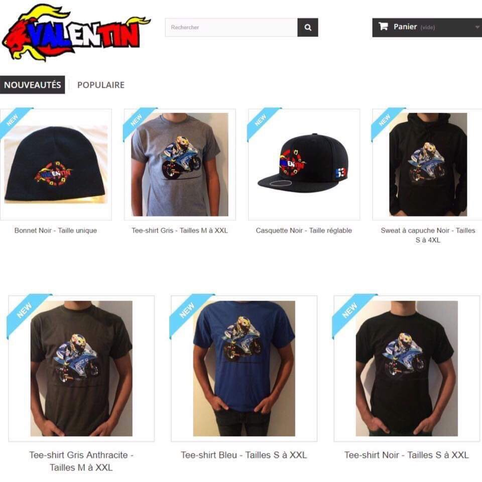 My shop 🥰 For sale T-shirts 20€ By paypal it's possible.