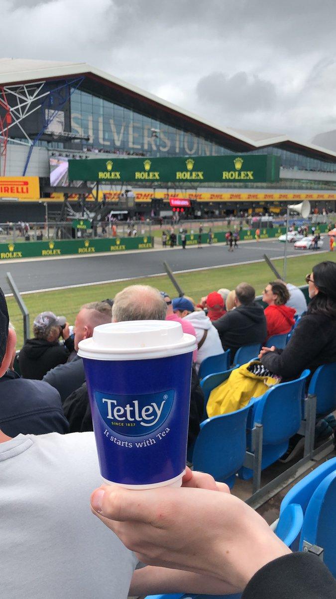 F1 Silverstone Race day!!! #ItStartsWithTea #TetleyUK #F12019  #Silverstone