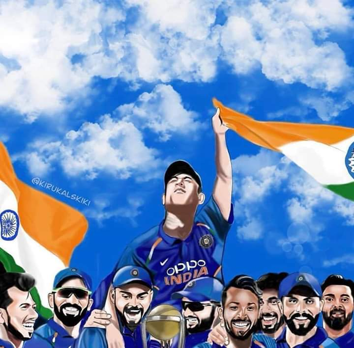 A billion hearts were waiting to see this happen today. But alas, not all dreams are fulfilled, leaving behind a cornucopia of memories & plenty of ifs & buts..  #TeamIndia #MSDhoni #CWC19 <br>http://pic.twitter.com/pZHXWHNJRQ