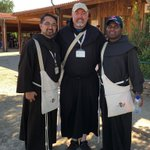 Image for the Tweet beginning: Young friars from Canada (Carlos,