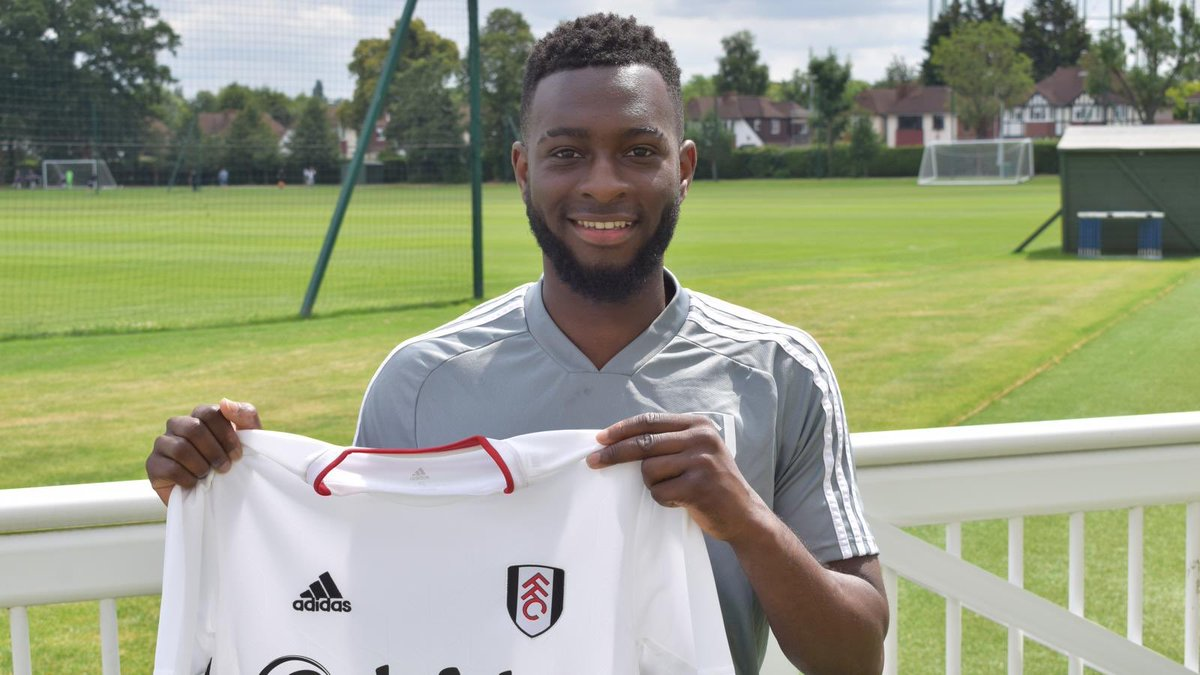 Happy to announce my move to @FulhamFC can't wait to get to work!❤️🙌🏾 Thanks to @ColossalSportsM for making it happen!🙌🏾🤩