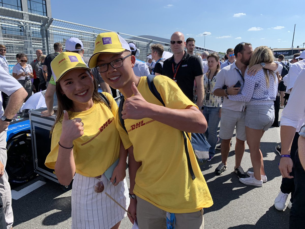 Meet our #DHLSuperFan Lawrence! Lawrence won our 50 Moments that Delivered in Formula E campaign earlier this season and will be taking over @FIAFormulaE's Instagram stories this Sunday to give fans a behind-the-scenes look at the #NYCEPrix