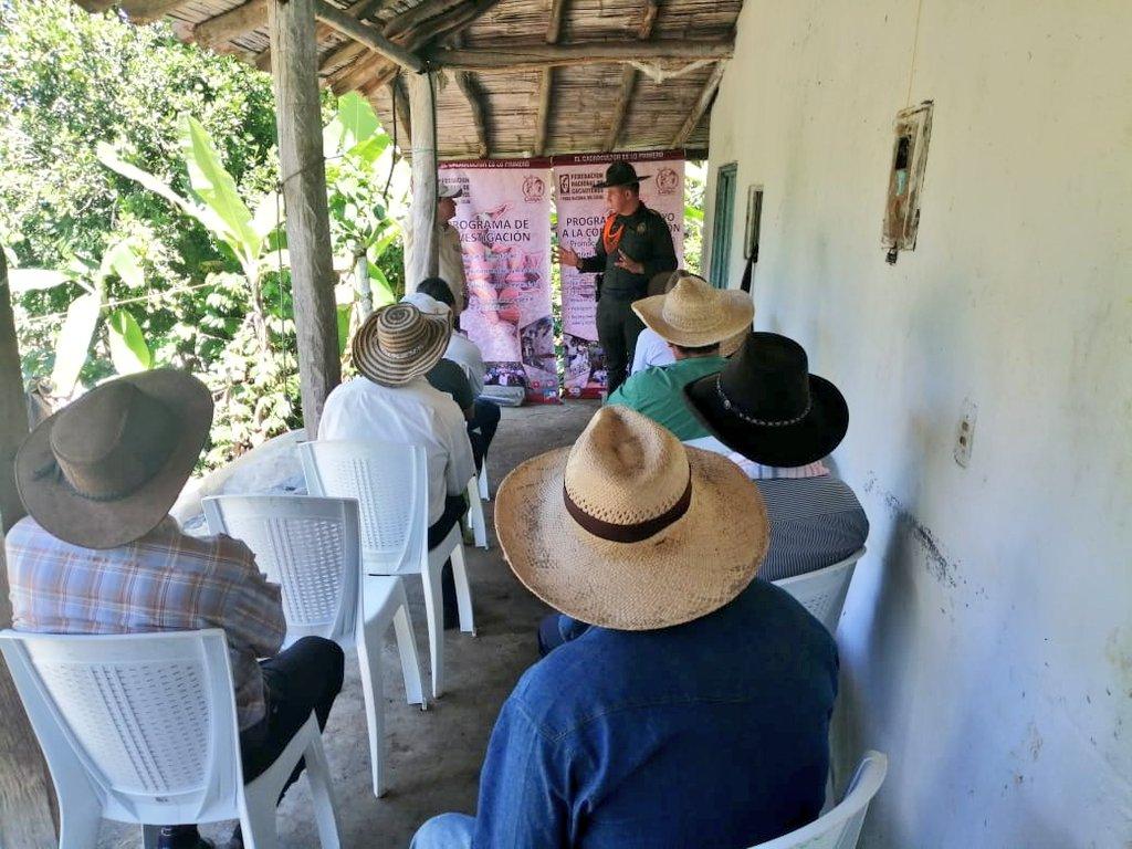 #JuntosConElCampo   Con @fedecacao asesoramos y acompañamos los proyectos productivos de nuestros campesinos en el municipio de #Coromoro #FelizDomingo #SISER