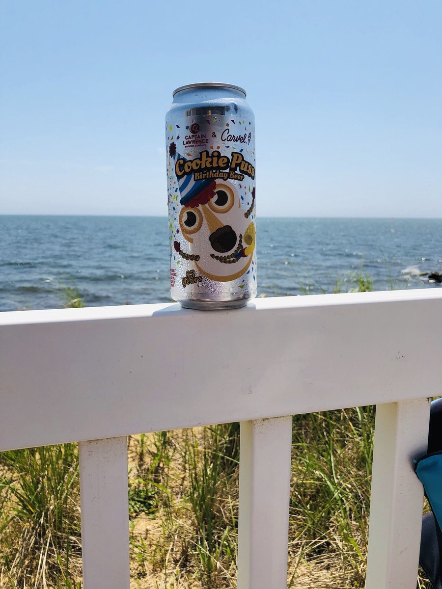 Nothing says vacation like Cookie Puss beer.