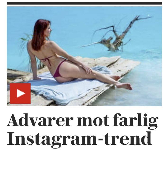 Den «farlige Instagram-trenden» er altså å ta bilete i eller ved ein innsjø – i føkkings Sibir.