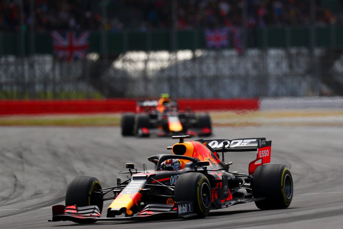 .@PierreGASLY finished in his highest position this season @SilverstoneUK with P4. Some top driving on display from both Pierre and @Max33Verstappen. An exhilarating race for all @F1 fans. #BritishGP #LICENCETOTHRILL #F1007