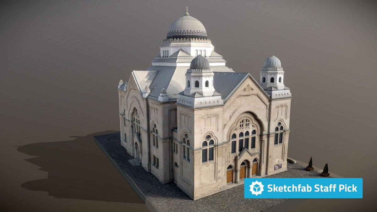 New staff pick: Synagogue Lučenec Slovakia | Lower Resolution by OVERHEAD. Check it out in #3D, #AR or #VR: bit.ly/2JGidQd #3dscan