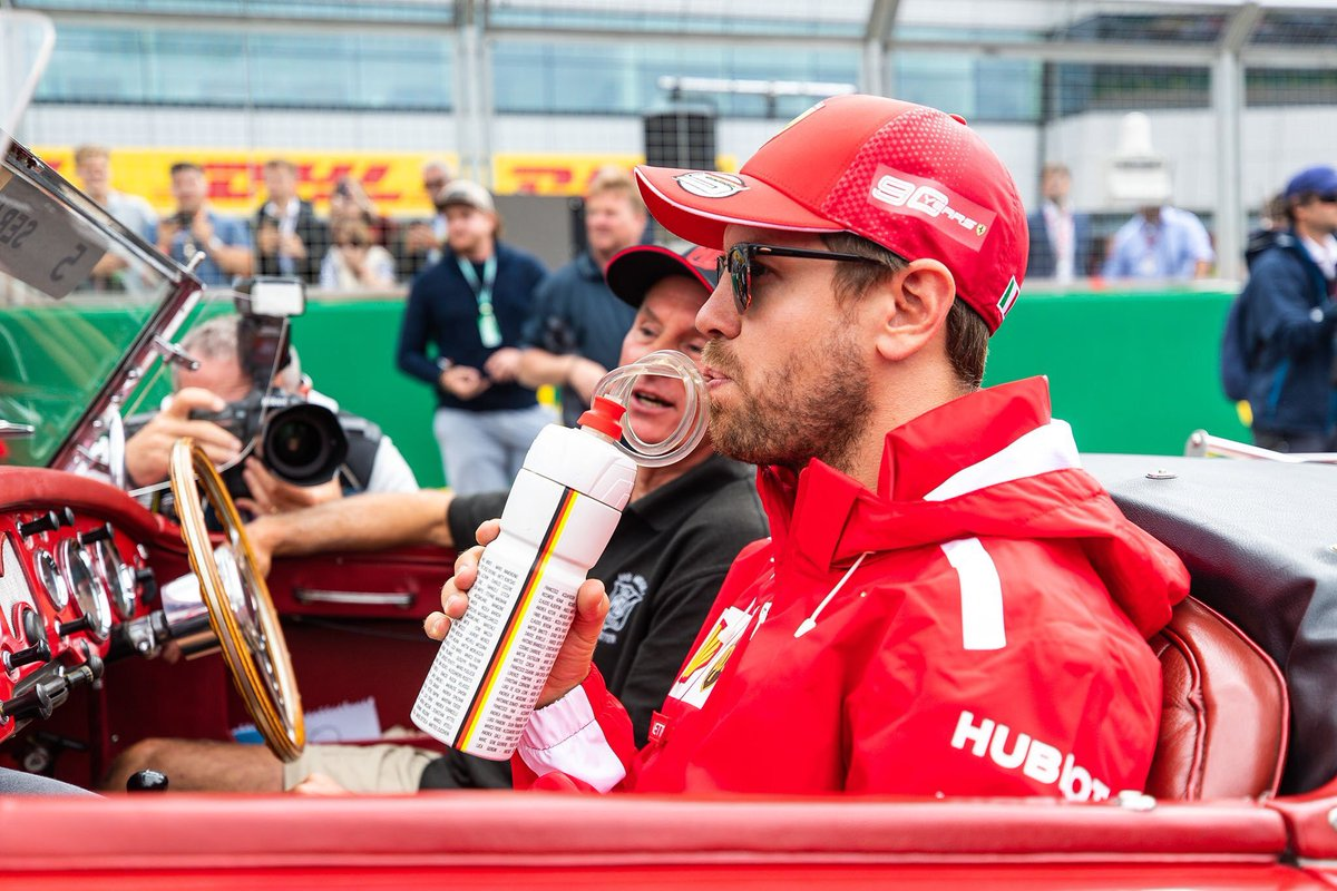 To make mistakes or be wrong is human. To admit those mistakes shows you have the ability to learn, and are growing wiser.  As a sign of respect and appreciation Sebastian carries the names of all @ScuderiaFerrari team members on his drink bottle.  📷 http://kymillman.com