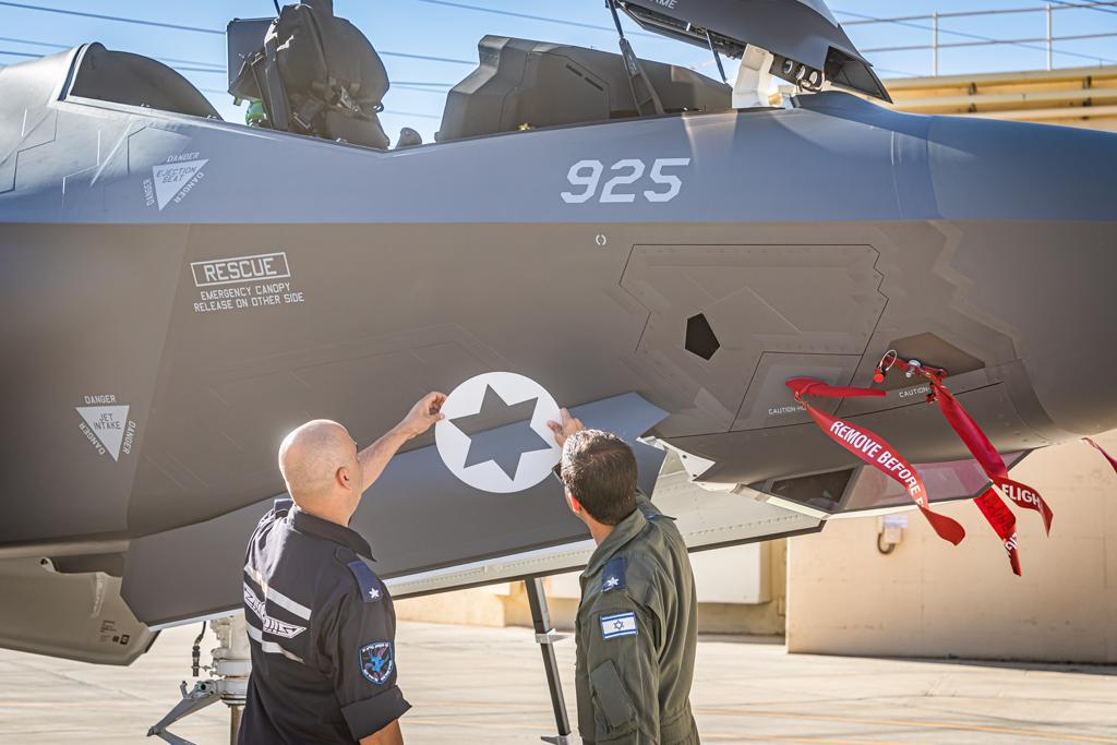 Two new F-35s gave arrived in Israel