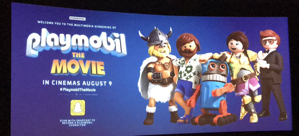 A super fun morning for all, at the first media screening of #PlaymobilTheMovie 😀 Even super agent Rex Dasher found time top pop by and say hello 😎