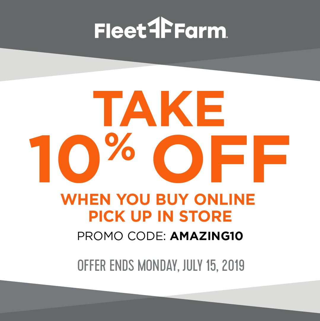 74 Off Fleetfarm Com Free Shipping Discount Codes For Jul 2019 >> Mills Fleet Farm Promo Code Auto Car Reviews 2019 2020