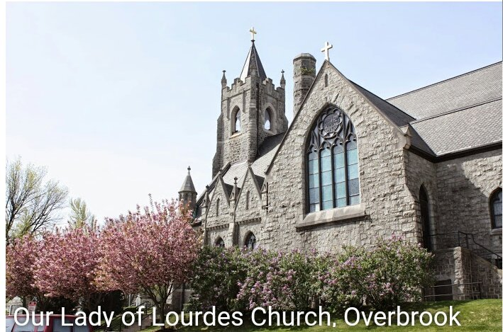 This morning I'm on my way to Our Lady of Lourdes Catholic Church in Overbrook for the #HolyMass in Latin<br>http://pic.twitter.com/3WTTe70qbM