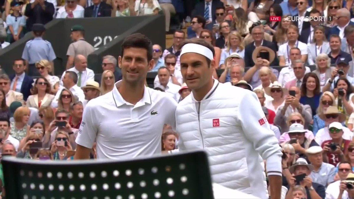 Samenvatting Wimbledon mannenfinale: Djokovic - Federer