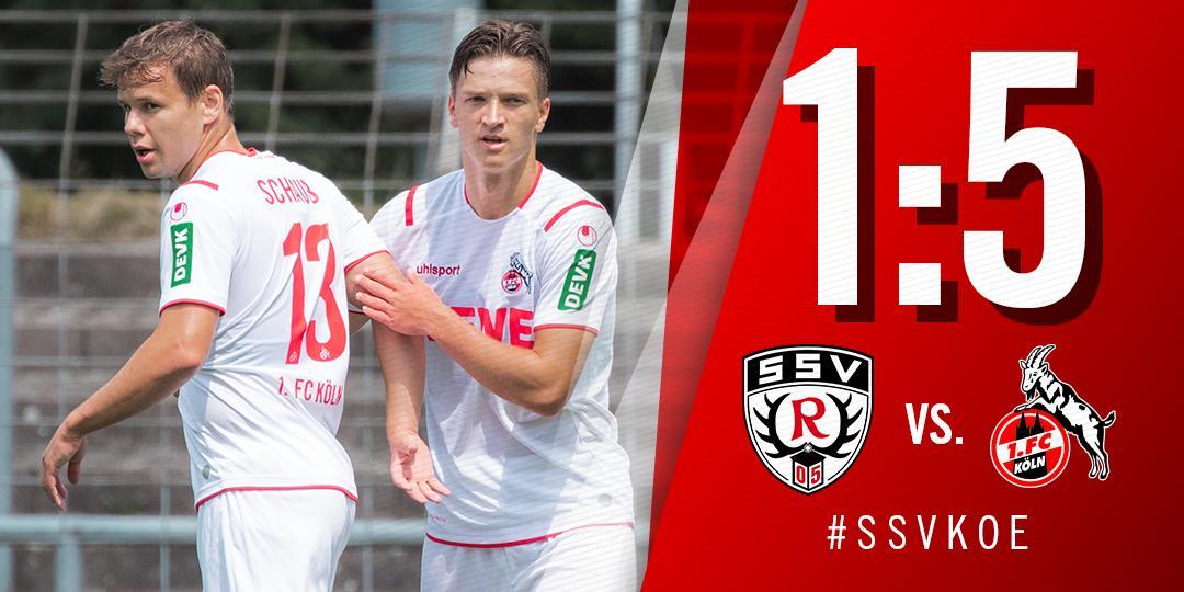 1.FC Köln: Hattrick von Jhon Cordoba bei Testspielsieg in Reutlingen