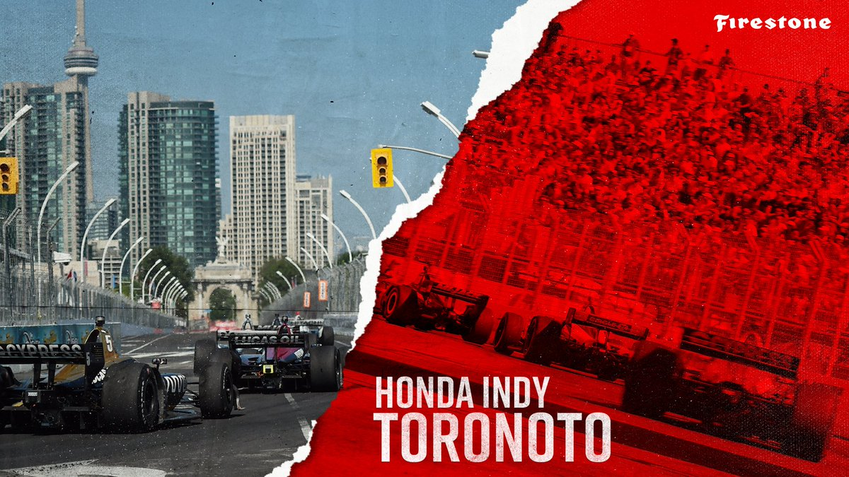 Happy Race Day from @hondaindy 🏎💨 Tune in to @NBCSN at 3 p.m. ET to catch all the @IndyCar action as they return to the Streets of Toronto! #INDYCAR // #indyTO