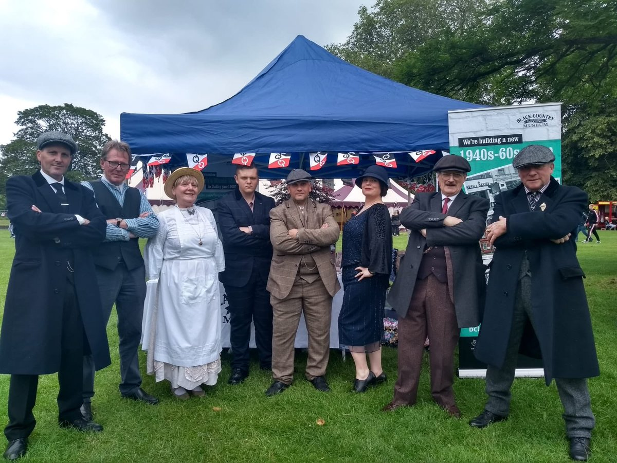 Did anyone catch us on BBC WM this afternoon? Some of our historic characters are at Musicom Festival at Himley Park today running rag rug sessions and chatting about our new 1940s-60s development #musicom #myblackcountrystorypic.twitter.com/WAYAO0MHr8