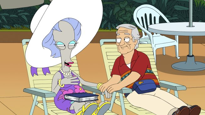 Me and alien from Area 51 in 60 years after we both retire and move to Turks and Caicos