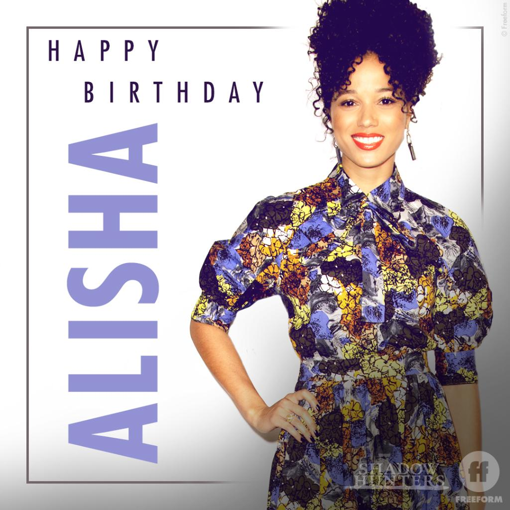 Happy birthday @WainwrightAE! Hope today is as bright and brilliant as you are. 🌟 Leave your birthday wishes for Alisha below.