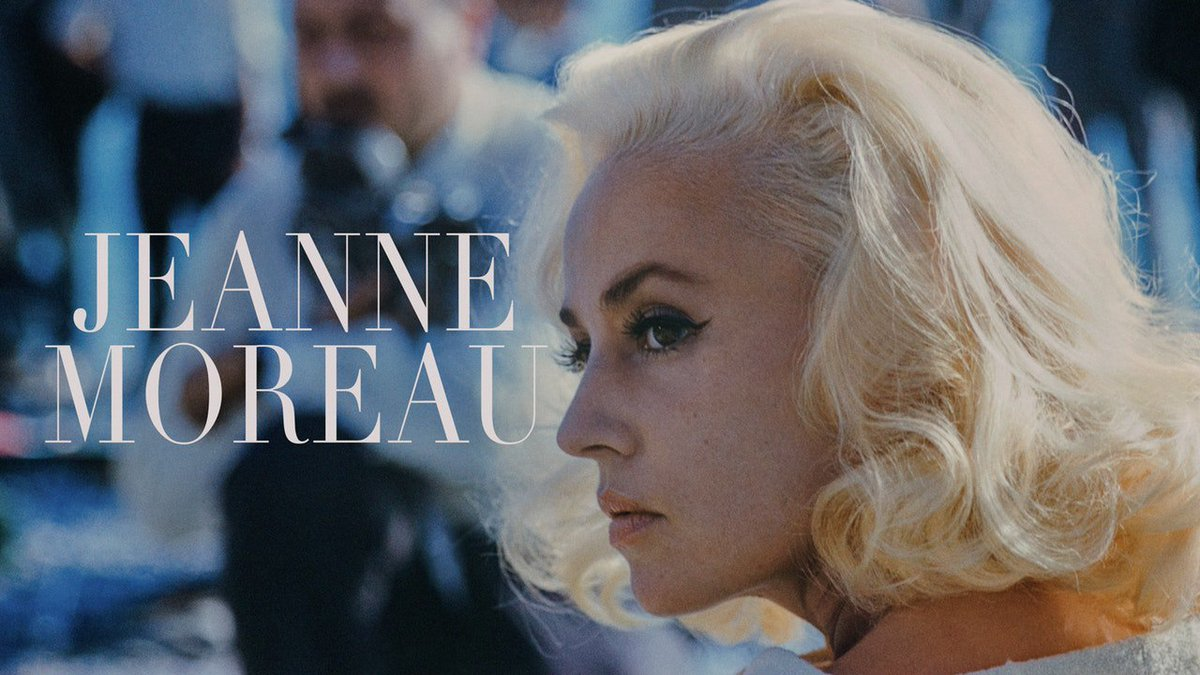 "With her smoldering magnetism and fierce intelligence (likened by Patti Smith to ""a barbed-wire fence on fire""), French screen siren Jeanne Moreau breathed unforgettable life into some of the most complex women in all of twentieth-century cinema. criterionchannel.com/jeanne-moreau"