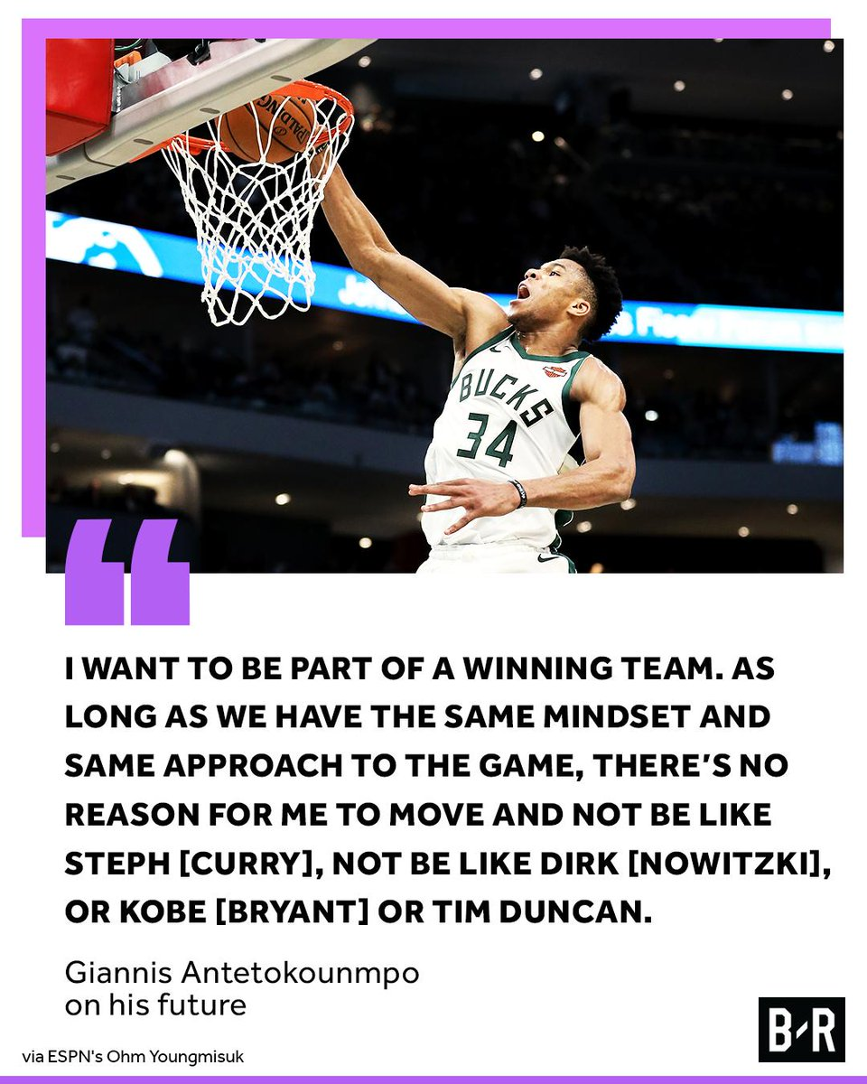 Giannis Addresses The Possibility Of Leaving The Milwaukee Bucks