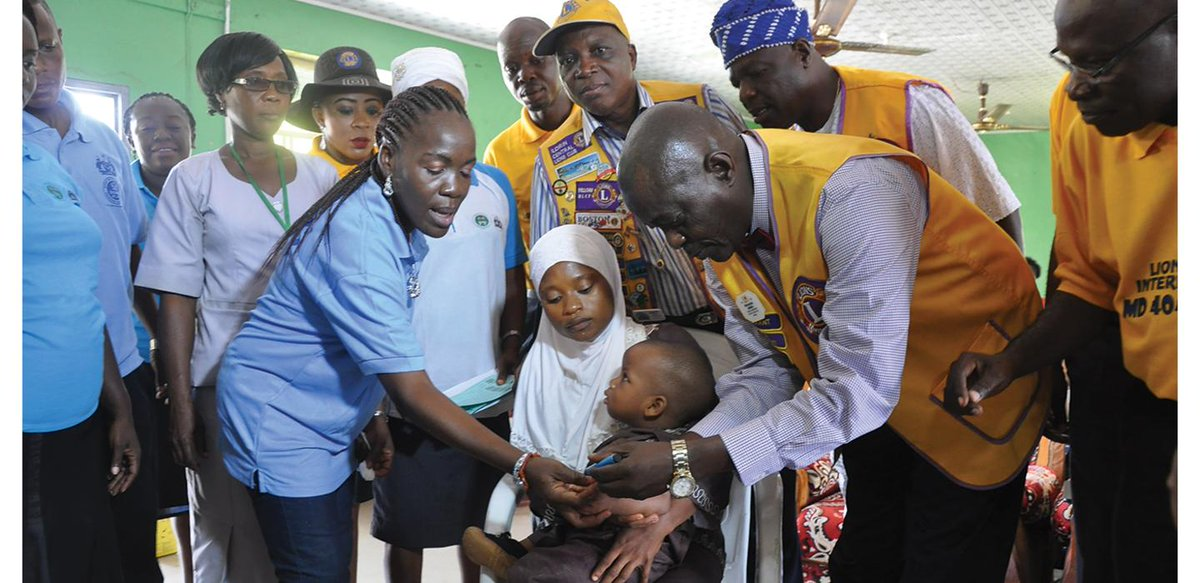 """test Twitter Media - """"Because of the Lions' advocacy program, we're able to mobilize people from the grassroots to the highest level of the government."""" From 2010 to 2012, Lions helped vaccinate more than 150 million children against measles ➡ https://t.co/HBeI782Etl https://t.co/kcdY6e3kJ2"""