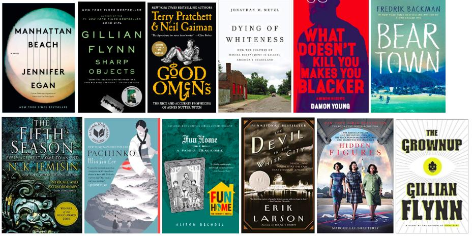 A midsummer update: 12 books this summer, 28 for the year. Hey, @GWHilltoppers and @GWEnglishDept , we have exactly one month before classes begin again. Whats left on your reading list?