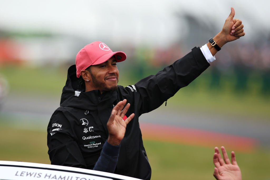"""I can't tell you how proud I am to be here today in front of my home crowd. There's so many British flags out there and every year I see it and you think you get used to it but it feels like the first time"" - Lewis Hamilton 🏆🇬🇧http://bbc.in/30r8T9w"