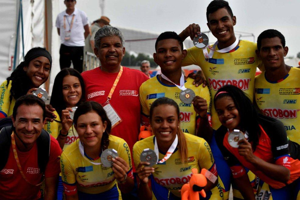Colombia es campeona del mundo en patinaje 🇨🇴🇨🇴🇨🇴http://bit.ly/32nOXpM