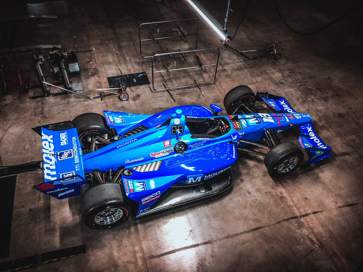 It's #IndyTO race day and we are ready to rock in this beauty 💎 #INDYCAR