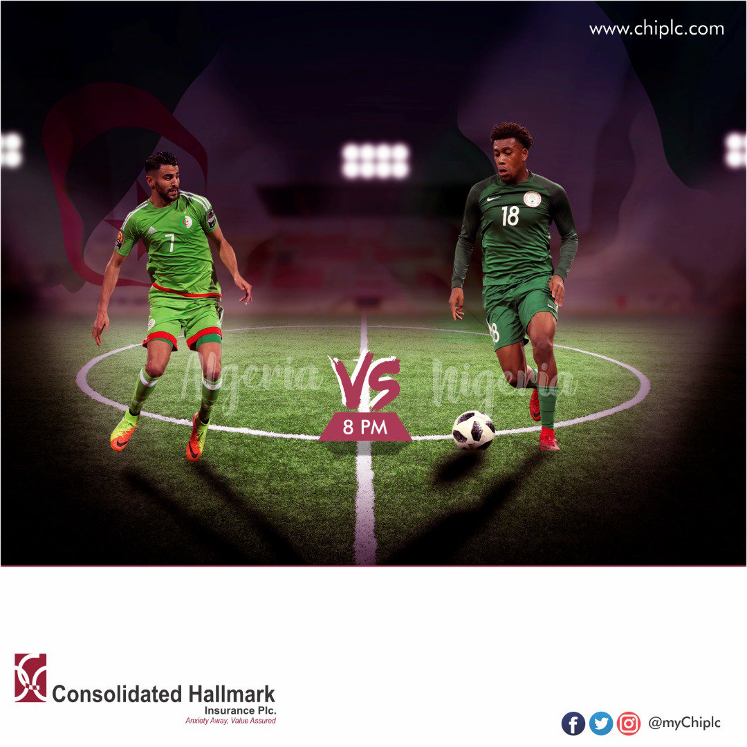 It's a few hours to the Most Electrifying  Match   The Clash Between the #SuperEagles  of Nigeria  @NGSuperEagles & the #DesertFoxes  of Algeria  @LesVerts  Like for ALG  RT for NIG   #ALGNGA #AFCON #AFCON2019 #CAN2019 #CAN2019EGYPT <br>http://pic.twitter.com/qId8Uv0DZ6
