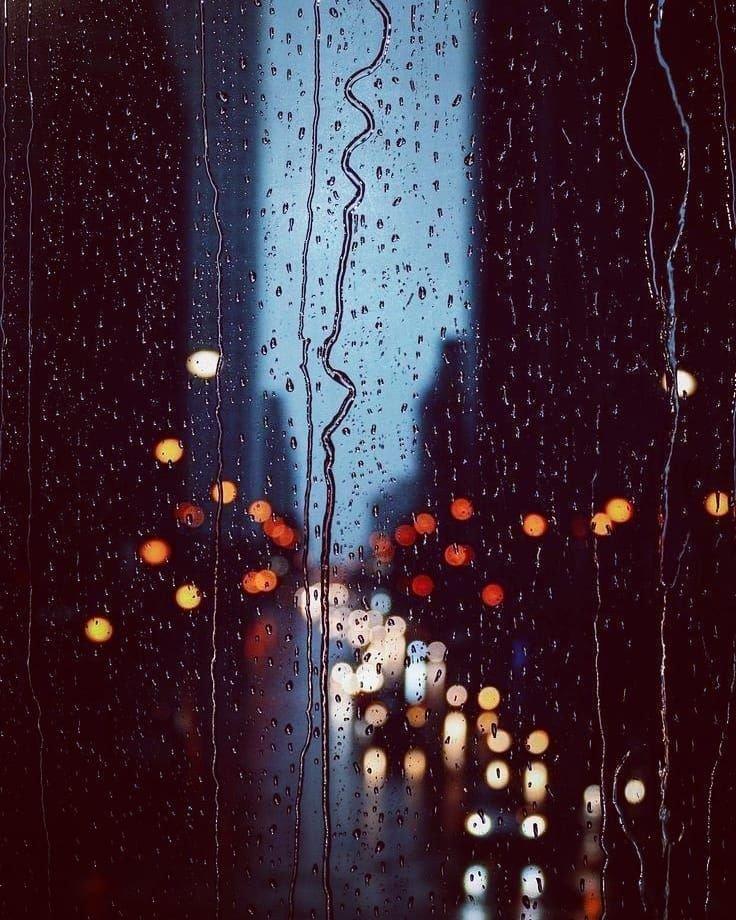 Ночь дождь луна картинки выверенная