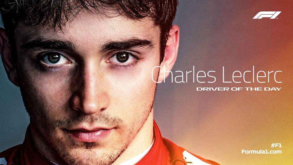 #F1DriverOfTheDay   👏 @Charles_Leclerc   #BritishGP 🇬🇧 #F1
